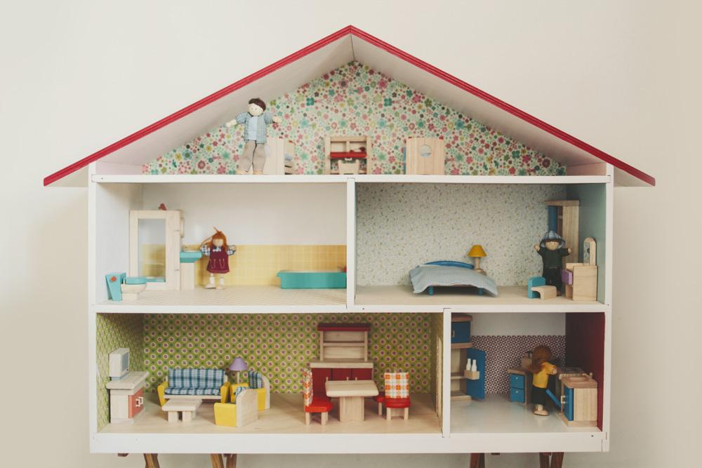 La casa de mu ecas en bonito picapino for Casita de madera ikea