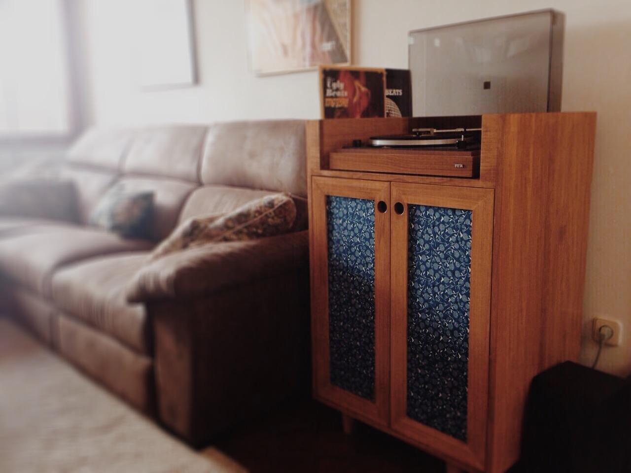 Mueble Para El Tocata De Selia Picapino # Muebles Tocadiscos