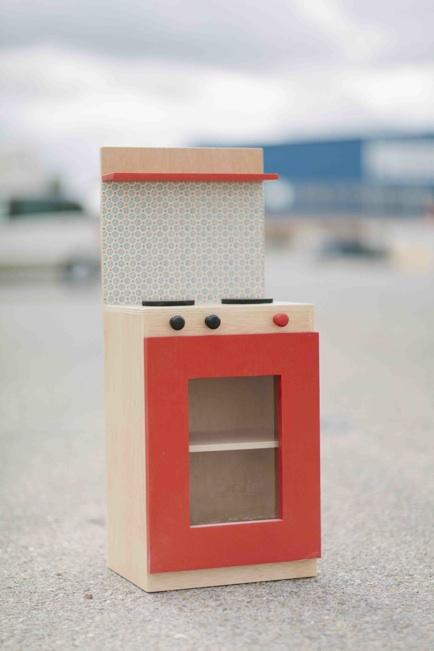 Picapino cocinita madera juguete calabo mano papel 4 for Cocinitas de juguete segunda mano