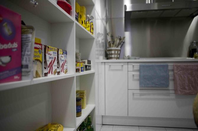 Picapino estanteria cocina alacena melamina blanca mueble for Severino muebles cocina alacena melamina blanca