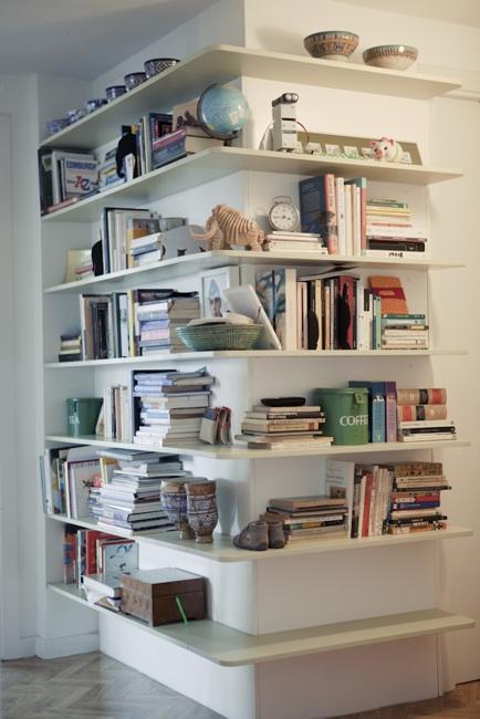 Picapino estanteria pasillo libros esquina baldas dm - Estanterias en esquina ...