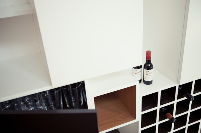 Picapino mueble salon estanteria cubos maderas 4 picapino for Mueble organizador de 9 cubos