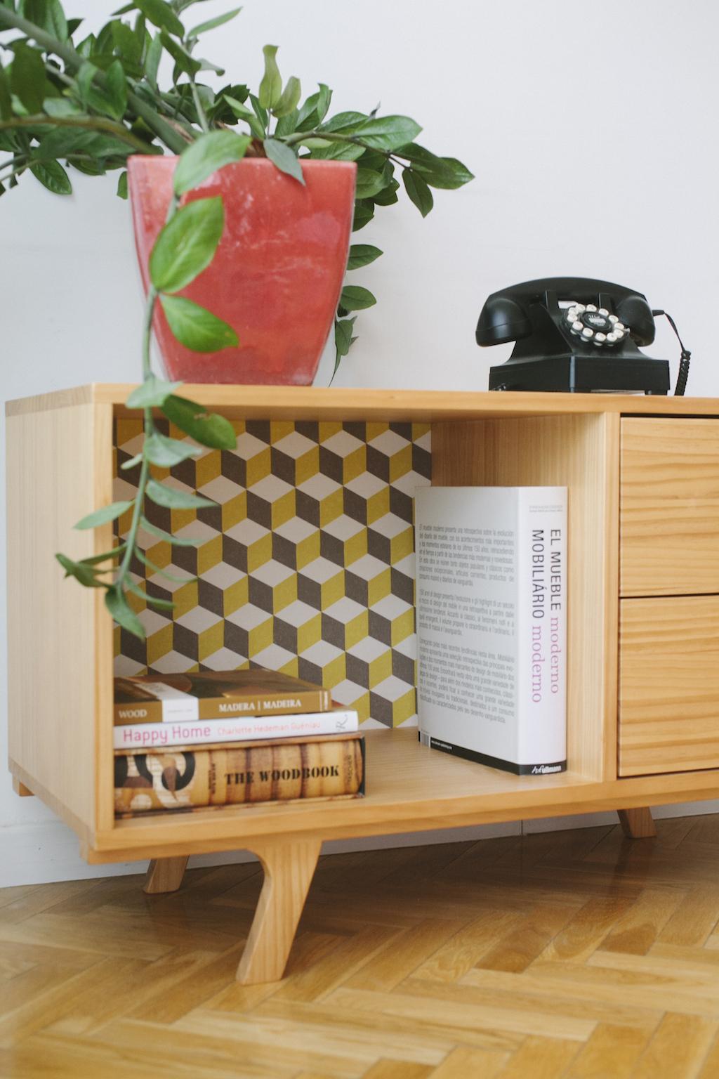 Mueble Con Tela Picapino # Muebles Roqueros