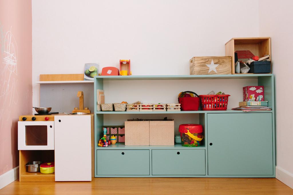 Mueble para los juguetes de fede picapino for Mueble juguetes