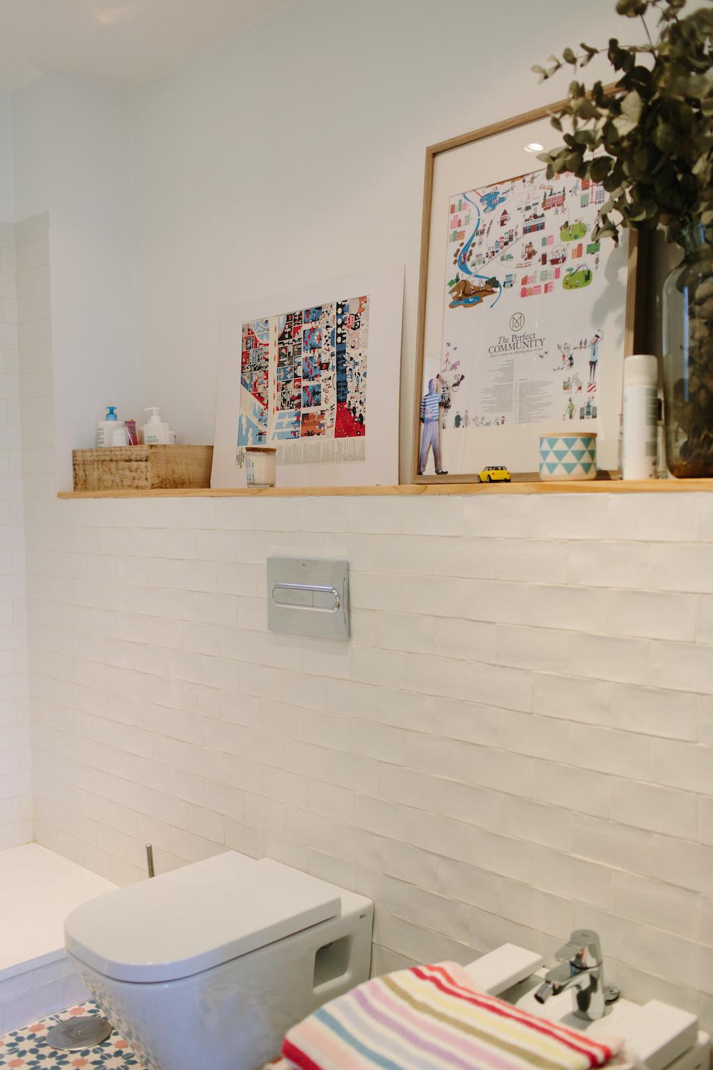 El ba o de natalia picapino - Mueble lavabo madera ...
